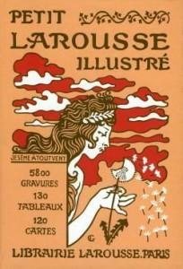 La couverture du Petit Larousse en 1905